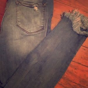 Jeans - Distressed jeans